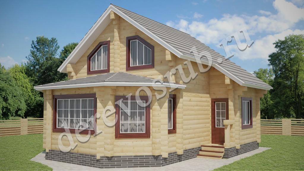 Деревянные дома из бруса.